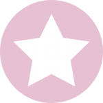 icon of a pink star